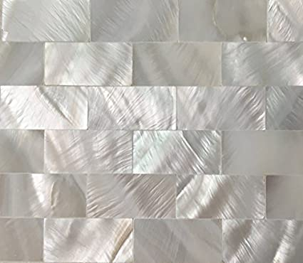 Pleasant Tile 4 You Genuine Groutless Brick Mother Of Pearl Tile For Best Image Libraries Barepthycampuscom