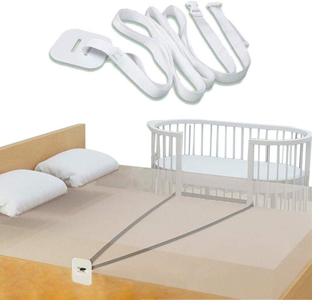 Accesorio de cama universal,Correa de cuna,Cinturón de cuna,Accesorios cama supletoria,Barandilla de cama de bebé,Parachoques de barandilla de cama ...