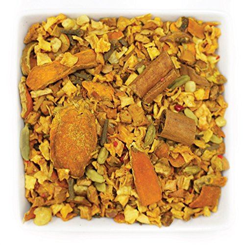 Tealyra - Perfect Pumpkin Pie - Cinnamon - Ginger - Cardamom - Herbal Fruity Loose Leaf Tea - Relaxing - Hot and Ised - Caffeine Free - 112g (4-ounce) -