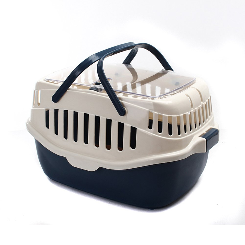 Caja De Transporte Transportín Para Animales Dog Cat Travel Carrier Cage Bolso Portátil Transpirable Y Cómodo LX-086,Beige