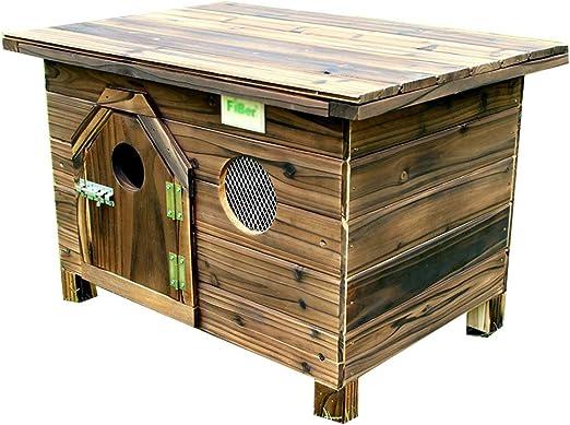 Hh001 Casa para Mascotas de la Perrera Casa de la Perrera de Madera Maciza Jardín de