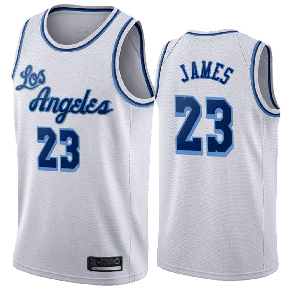 Hanbao NBA Lakers 23# James Men's Basketball Swingman Jersey ...