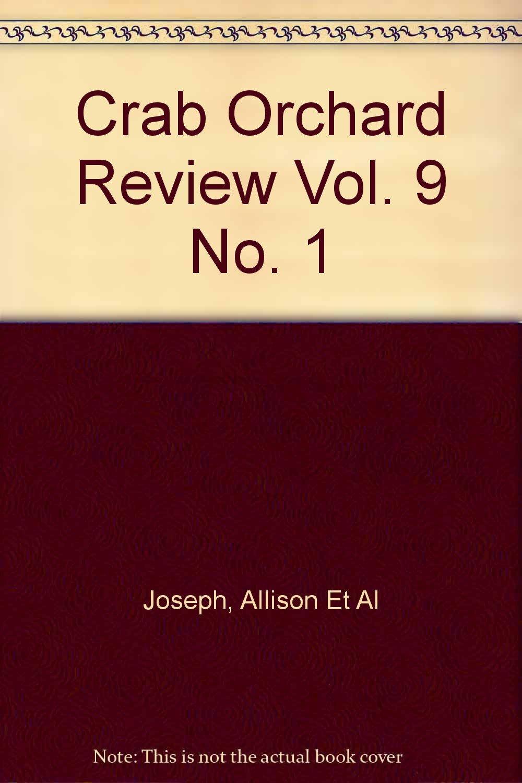 Crab Orchard Review Vol. 9 No. 1 pdf