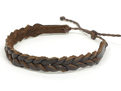 Ringe Perlen Clever Armband Leder Schmuck Armbänder Damen Herren Modeschmuck Armreif Surferarmband