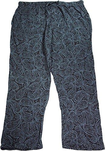 Hanes Men's ComfortSoft® Cotton Printed Lounge Pants Paisley 5XL Hanes Men's ComfortSoft® Cotton Printed Lounge Pants by Hanes