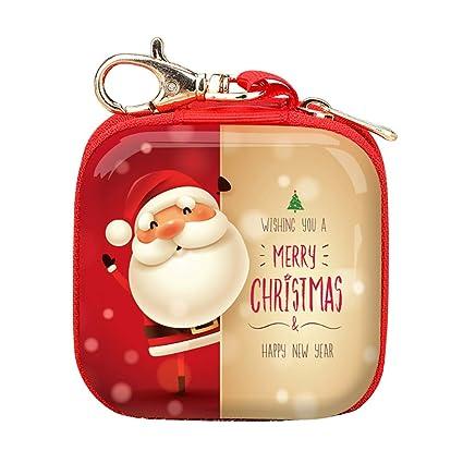 Mini Monedero Monedero de Navidad Santa Claus Regalo ...