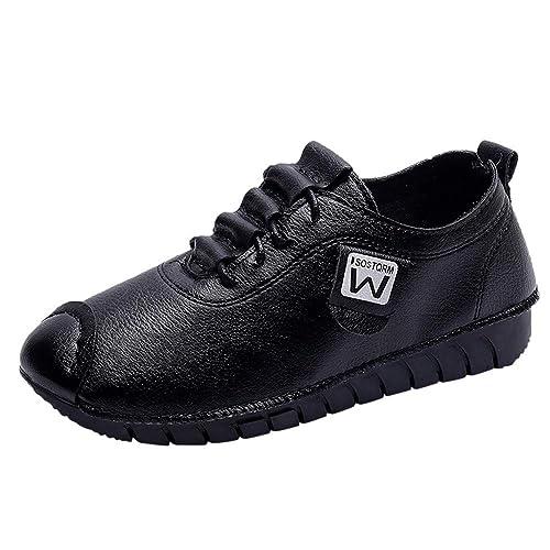 Moda para Mujer para Mujer Zapatos sin Cordones Mocasines Planos Zapatos Deportivos Zapatillas de Deporte LM4558: Amazon.es: Zapatos y complementos