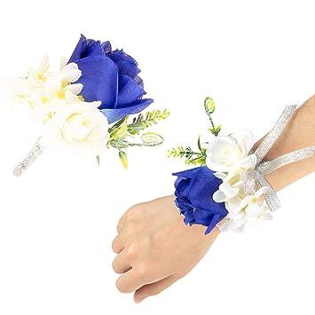 Amazon.com: JaosWish - Juego de 2 piezas de ramo de flores ...