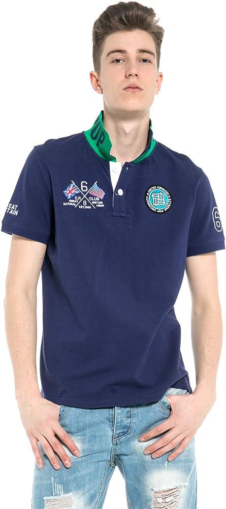 Hombre Camisa Polo Algodón Puro Piqué Punto Camisas Polo Hombre ...