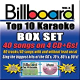 Billboard Top-40 Karaoke - Box Set Vol. 3 (40+40-song Box Set) [4 CD]