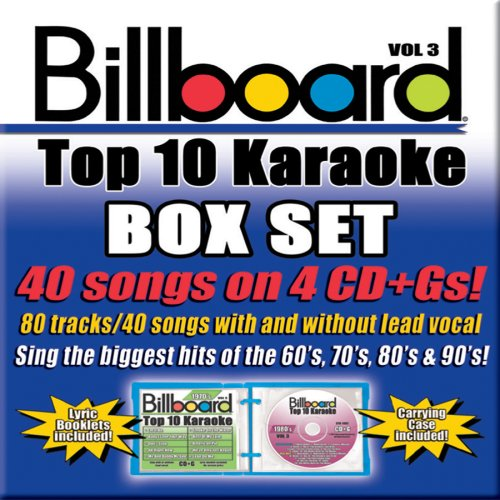 (Billboard Top-40 Karaoke - Box Set Vol. 3 (40+40-song Box Set) [4 CD])