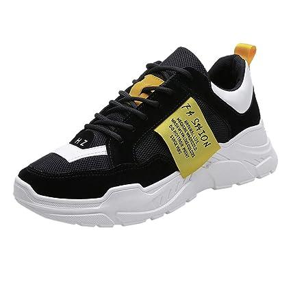 05910852c6587 Amazon.com: JJLIKER Mens Mesh Fashion Sneakers Summer Comfortable ...