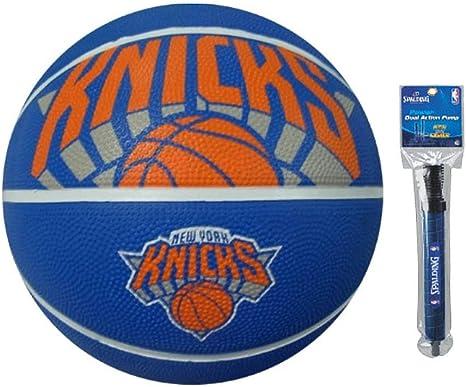 Spalding NBA New York Knicks - Balón de baloncesto para exteriores ...