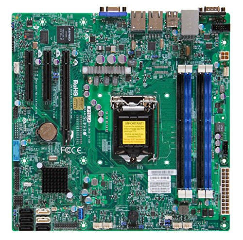 Supermicro Motherboard Micro ATX DDR3 1600 LGA 1150 Motherbo