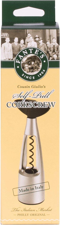 Fantes Self-Pull Corkscrew, Made in Italy, The Italian Market Original since 1906