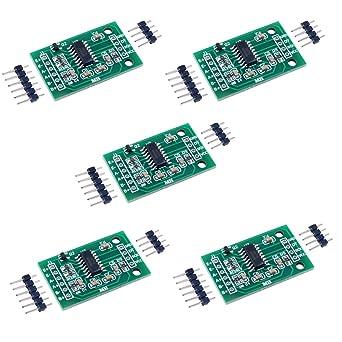5PCS HX711 Load Cell Amplifier Breakout Weight Weighing