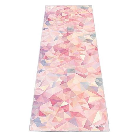 52ae5e074f YOGA DESIGN LAB | The HOT Yoga Towel | Premium Non Slip Colorful Towel |  Designed in Bali | Eco Printed + Quick Dry + Mat Sized | Ideal for Hot Yoga,  ...