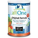 allOne Multiple Vitamin & Mineral Powder, Original Formula   Once Daily Multivitamin, Mineral & Amino Acid Supplement w/ 8g Protein   30 Servings