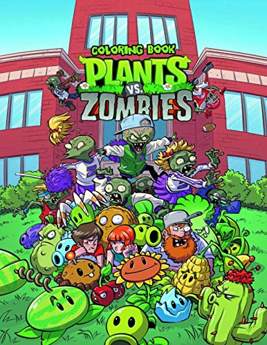 Plants Vs Zombies Coloring Book: Great Coloring Pages   JUMBO Coloring Pages