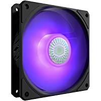 Cooler Master SickleFlow 120 V2 RGB Square Frame Fan with Customizable LEDs, Air Balance Curve Blade Design, Sealed…