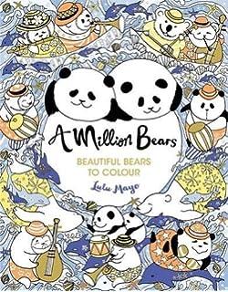 A Million Bears Colouring Books