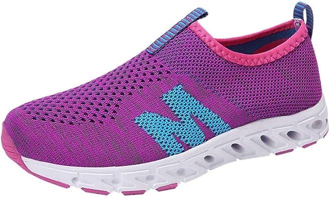 Zapatillas de Deportivo Running Plataforma para Mujer Otoño Verano 2018 Moda PAOLIAN Casual Zapatos de Deportes de Exterior Señora Cómodos Calzado Dama Suela Blanda Talla Grande Senderismo: Amazon.es: Zapatos y complementos