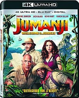Jumanji: Welcome to the Jungle [4K Ultra HD+ Blu-ray + Digital] (B075FSRZK7)   Amazon Products