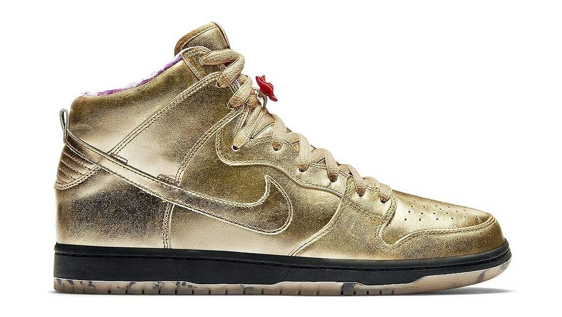 wholesale dealer c6fe5 a6449 Amazon.com | Nike SB Dunk Hi Humidity QS Size 10.5 Gold ...