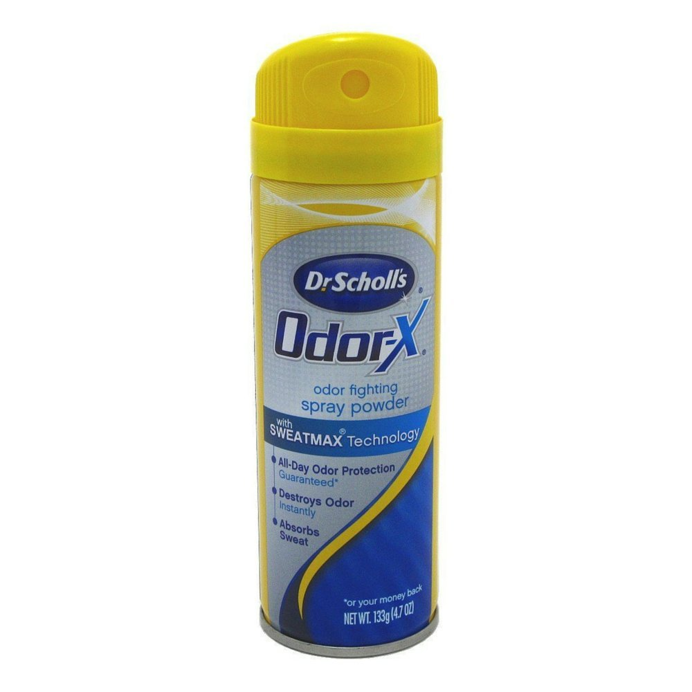 Dr. Scholl's Odor Destroyer Deodorant Spray 4.7 oz. - 2 Pack