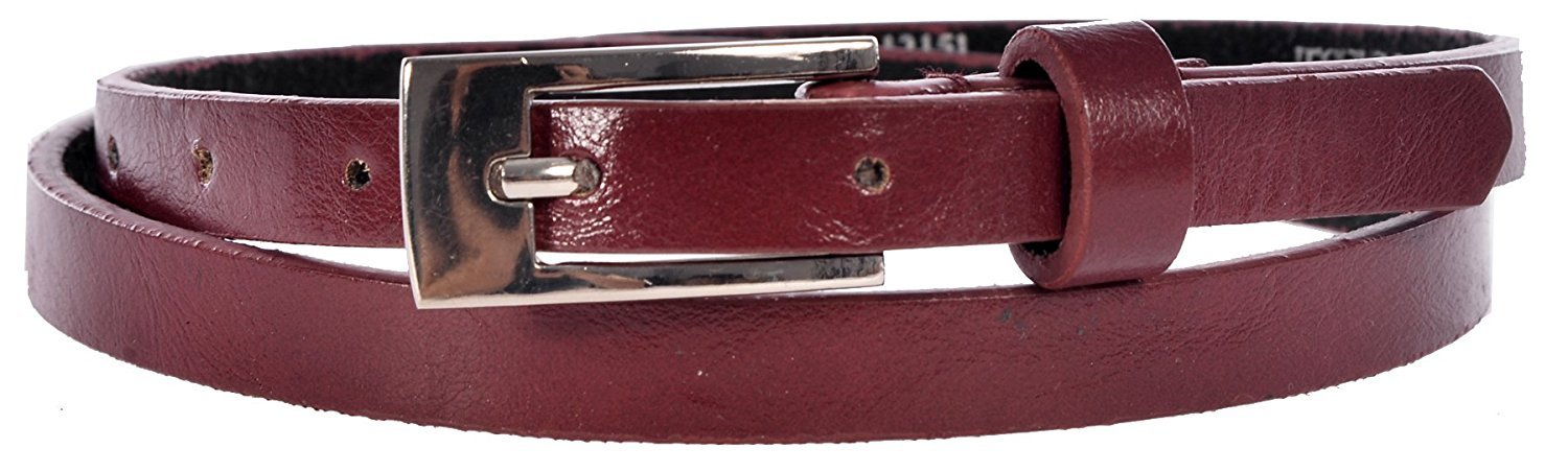 Sunny Belt Girls 1/2 Wide Faux Leather Belts In An Assortment Of Colors & Styles