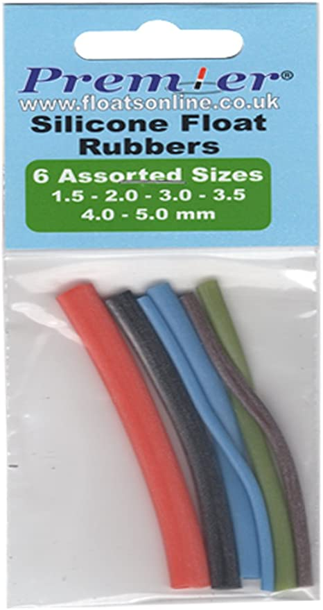 Assorted Pole Float Rubbers Pole Match Carp Fishing Boxed