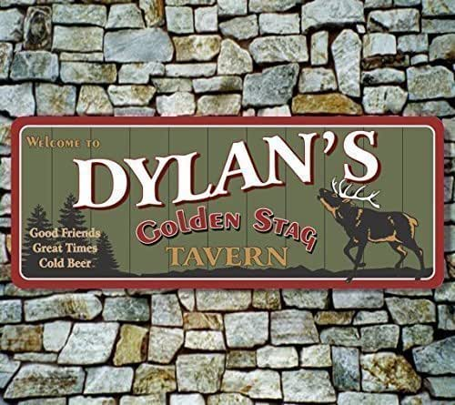 Tavern sign custom bar sign rustic sign with for Bar decor amazon