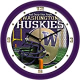 Linkswalker Washington Huskies Football Helmet Wall Clock