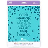 Erin Condren Designer Sticker Book - Monthly Edition 4 (12 Sticker Sheets Total). Decorative and Cute Stickers for Customizing Planners, Notebooks, and More
