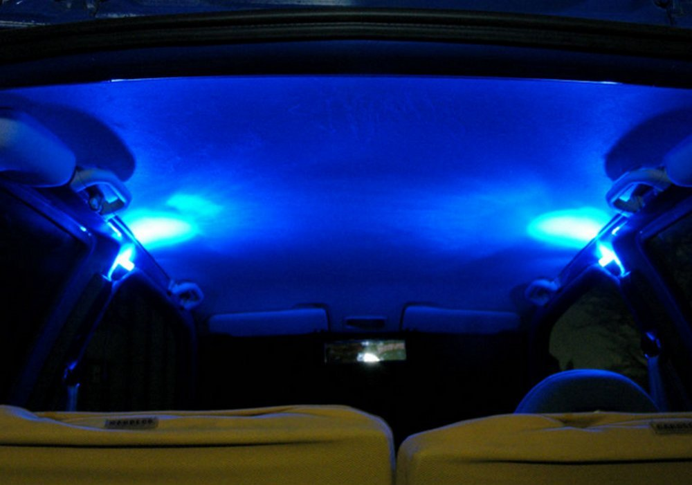 Plafoniere A Led Per Furgoni : Hypersonic eleganti luci a led blu modello hp dimmerabili