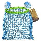 Baby Bath Toy Organizer Bathroom Tub Hanging Child Bath Toy Net Storage Bag Holder with 2 Suction Cups