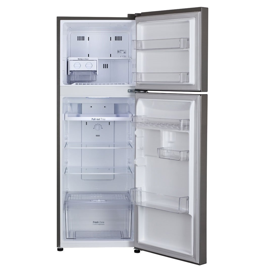 Trays in refrigerators worn out