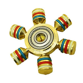 Hand Spinner Sayou Colorful Hand Spinner Brass Hand Spinner Toy