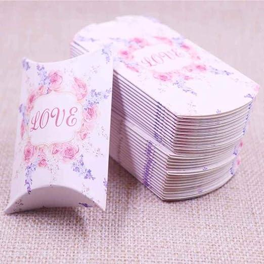 Caja de regalo de 10 piezas Almohada de papel Embalaje de ...