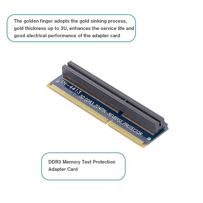 Docooler SO DDR3 204PIN Tarjeta de Adaptador de protección de ...