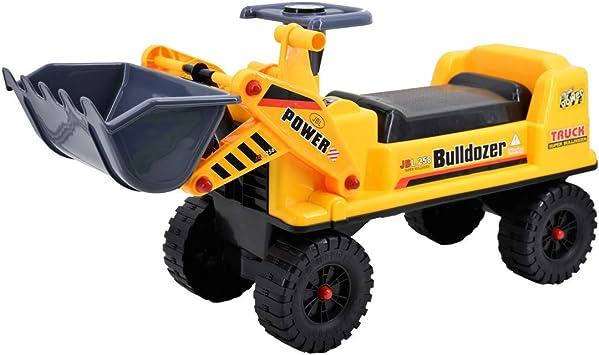 #0618 Kinder Spielzeug Schaufelbagger mit wiederstandsf/ähigen Softreifen 75 cm /• Sitzbagger Sandkasten Spiel Bagger Sandbagger