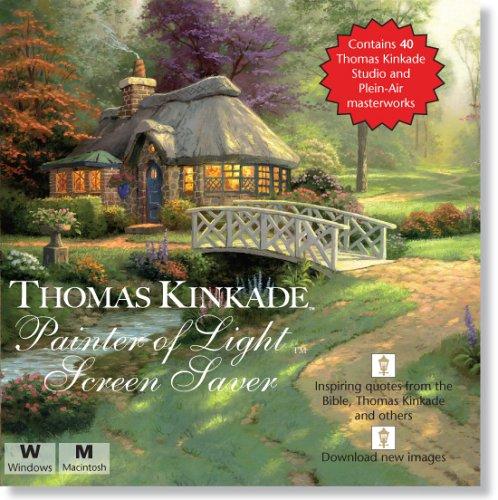 Thomas Kinkade Painter Light Screen