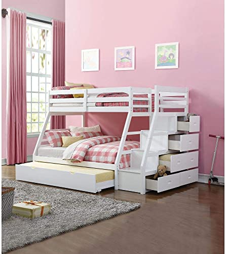 Merax Twin Over Full Bunk Bed