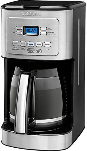 Cuisinart 14-Cup Stainless Steel Coffeemaker Machine Brew Automatic ,Black