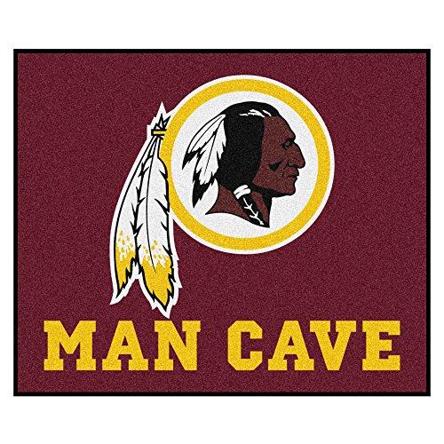 (FANMATS 14388 NFL Washington Redskins Nylon Universal Man Cave Tailgater Rug)