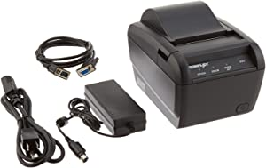 Parallel Cable and Power Supply Included Posiflex PP8000C10410UD Aura Terminal Printer Black BlueStar Inc.