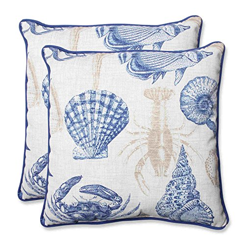 Pillow Perfect Outdoor Sealife 18 5 Inch