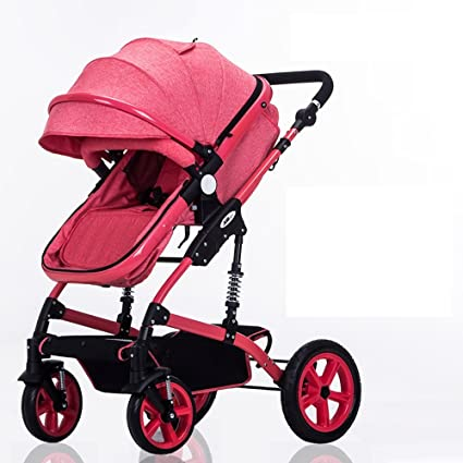 Cuatro rondas de carritos para niños, carros de bebé, pueden montar carruajes de bebé
