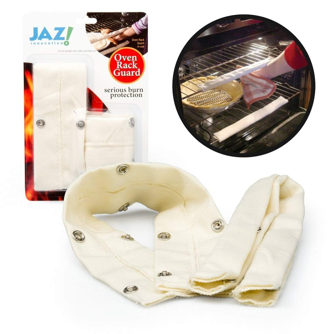 (2) - Oven Rack Guards - Cool Touch by Jaz 46cm Extra Long Oven Rack Guards (Pack of 2) Camerons Products 3020