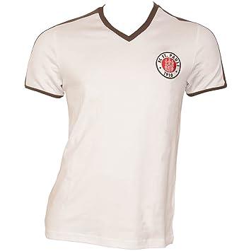 FC St. Pauli fútbol - Camiseta Retro Camiseta de 1985 con SG Dynamo en el Pecho: Amazon.es: Deportes y aire libre